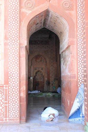 Jama Masjid : descanso