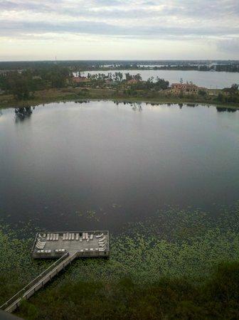 Lake Eve Resort : View from 2 bedroom platinum suite 14th floor.