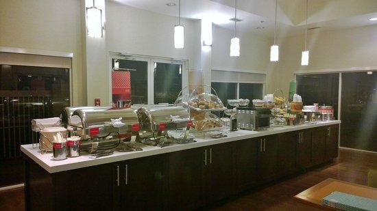 Hampton Inn Orlando/Lake Buena Vista: Breakfast
