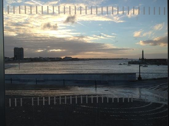 Turner Contemporary: view from the cafe :)