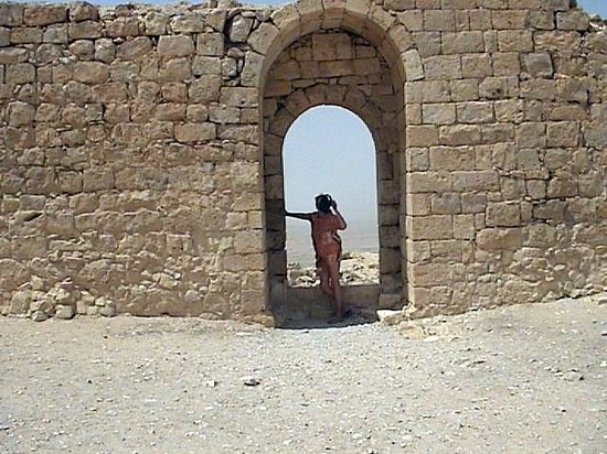Nabatean Avdat Acropolis: Авдат