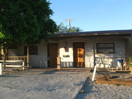 Ocotillo Motel: only two rooms
