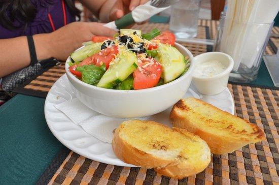 Marisol Boutique Hotel: Ejemplo de comida del restaurante anexo