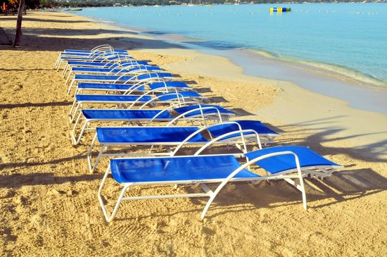 Negril Tree House Resort : Beach Area