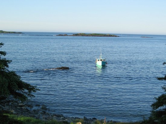 Louisbourg, Kanada: lobster fishing near the lighthouse