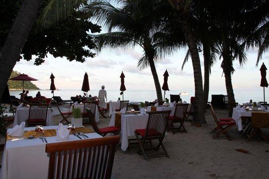 Anantara Rasananda Koh Phangan Villas : Frühstücken mit Meerblick