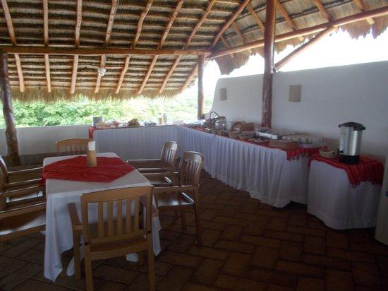 Las Villas Akumal: Breakfast