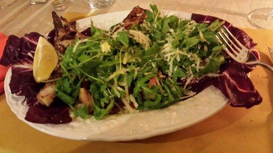 Peperosa : Tagliata manzo rucola pachino e parmigiano