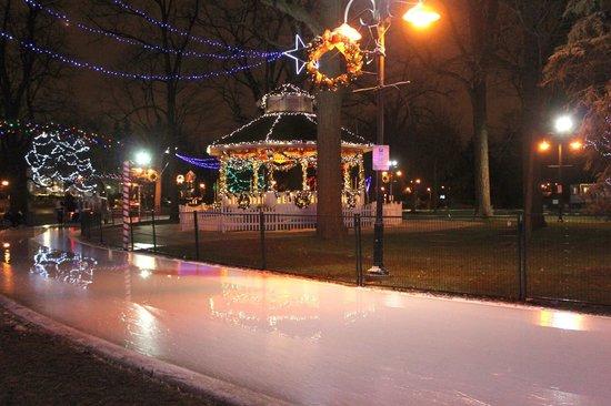 Brampton, Canada: Gage Park Skating Rink