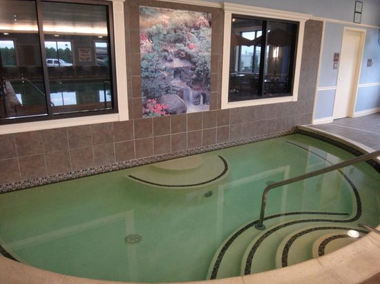 Hampton Inn Coventry-Warwick Area : Hot tub