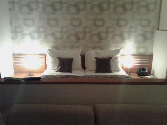Rezidence Vysehrad: Кровать супер