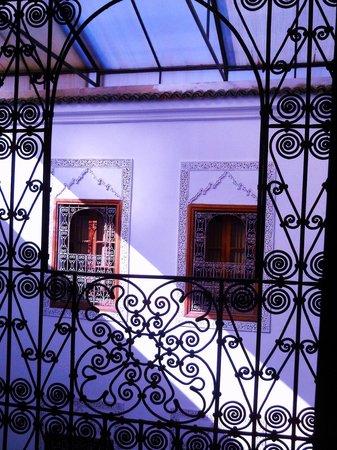 Dar Al Andalous : veduta dalla camera