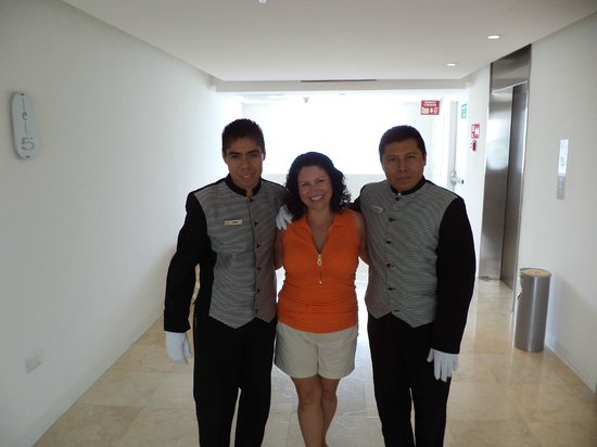 Le Blanc Spa Resort: Our amazing butlers Francisco and Antonio!