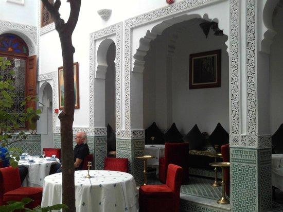 Dar Al Andalous : soggiorno