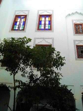 Dar Al Andalous : zona colazione /pranzo