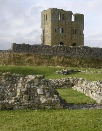 Scarborough Castle: Ruínas do castelo de Scarborough