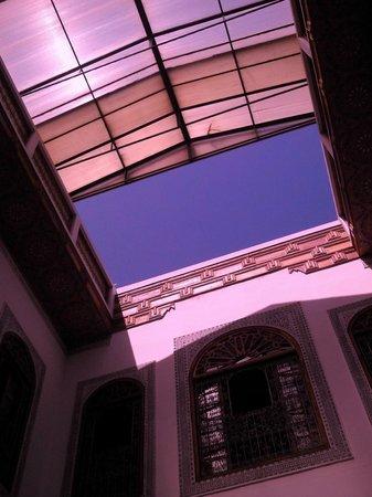 Dar Al Andalous: tetto scorrevole