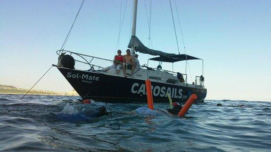 Cabo Sails: Descanso y Snorkeling