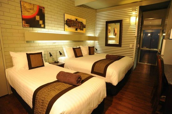 Morwell Motel: Twin Share - comfy beds for everyone