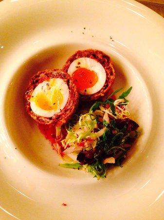 A La Turka: Scotch egg