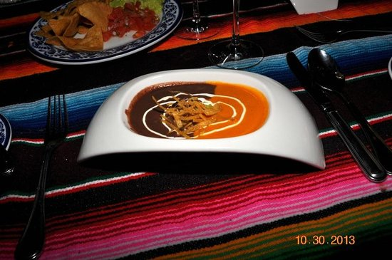 Secrets Silversands Riviera Cancun: Soup at El Patio