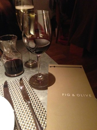 Fig & Olive Fifth Avenue: Some wine