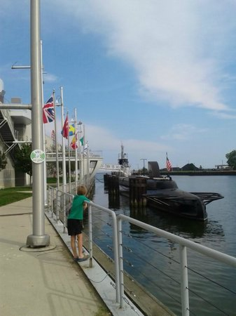 Wisconsin Maritime Museum: Outside view