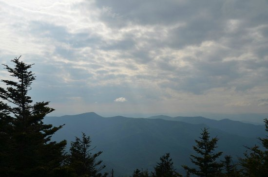 Mount Mitchell State Park: Great views on the Blue Ridge Moutnains