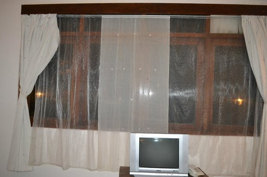 Hotel Alit's Beach: Curtains