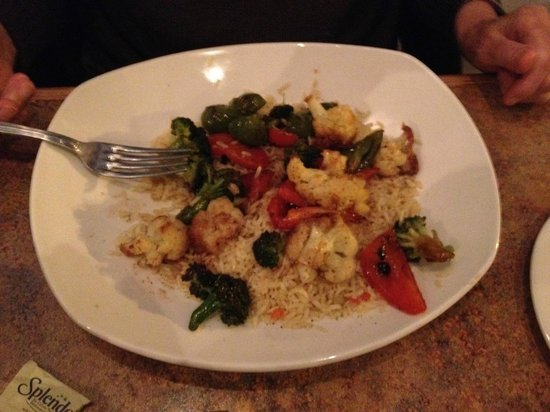 The Greek Islands Mediterranean Grill and Bar : Village Vegetable Stir Fry - $14.99
