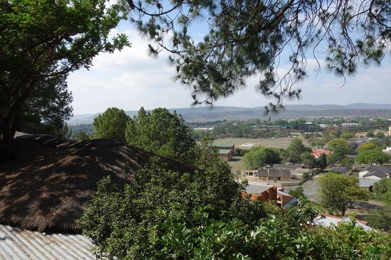 Buller's Rest Lodge: Ladysmith from Bullers Rest
