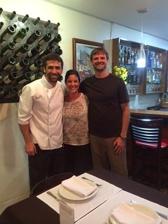 Sereni's Cuisine: Fabio with us