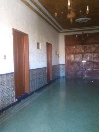 Gema's House: pasillo de habitaciones de la parte superior