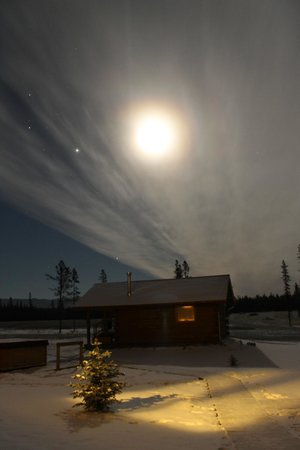 Northern Lights Resort & Spa : view of sky at night