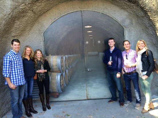 Beau Wine Tours - Napa Valley : Reviere Vineyards!