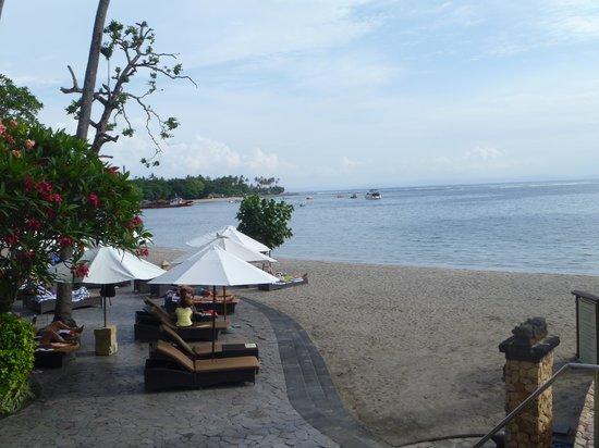Sheraton Senggigi Beach Resort: the private beach