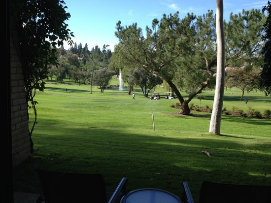 Rancho Bernardo Inn : view from rooms in the Greens building