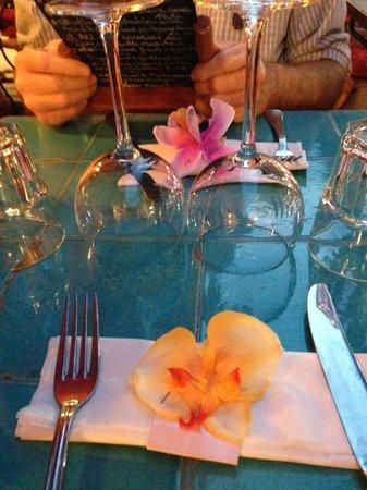 Chez Juliette: Pretty table setting