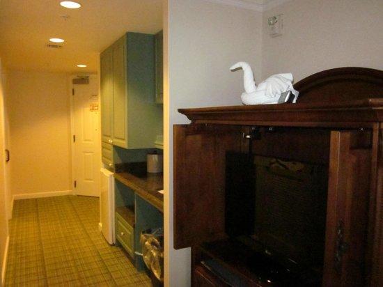 Disney's Saratoga Springs Resort & Spa: Handicap room 1st floor Grandstand