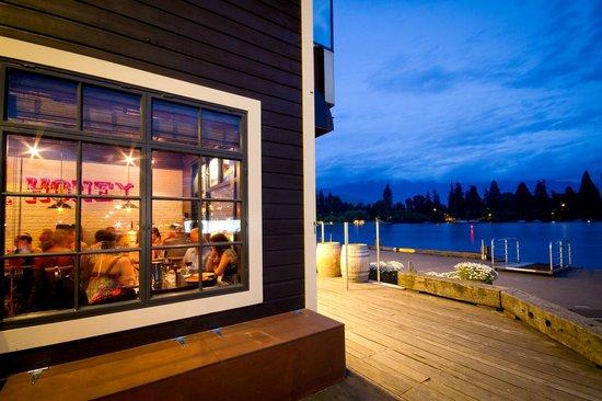 Outside Terrace Public Kitchen & Bar - Picture of Public Kitchen ...