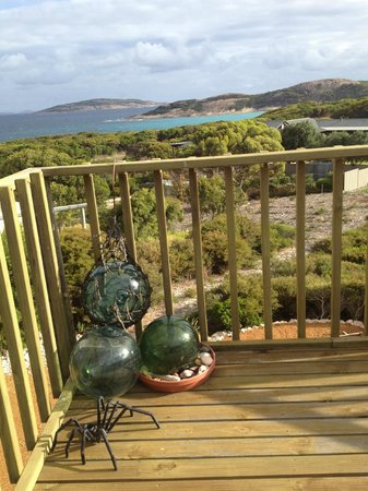 Esperance B & B by the Sea: the view from the deck