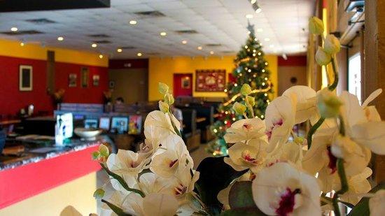 Thai Silk Restaurant: View