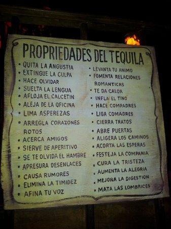 Guacamole Cocina Mexicana: Tequila!