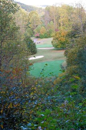 Deer Ridge Mountain Resort: golf hole view