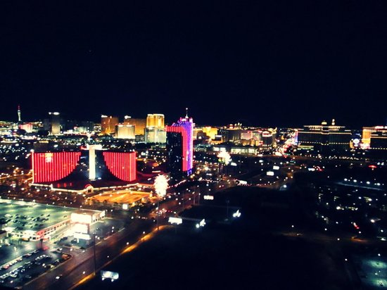 Moon Nightclub: The view from the Balcony