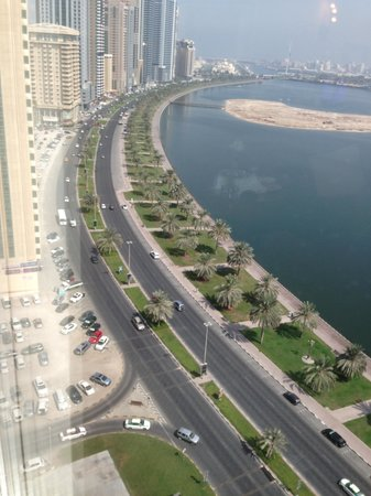 Hilton Sharjah: View from room