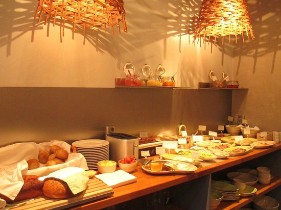 Klosterhagen Hotel : Breakfast spread
