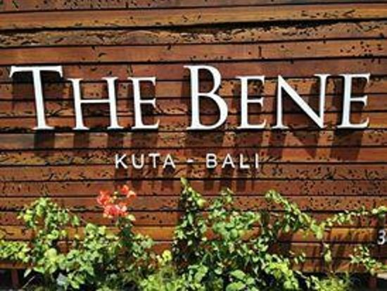 The Bene Hotel: The signage outside the hotel