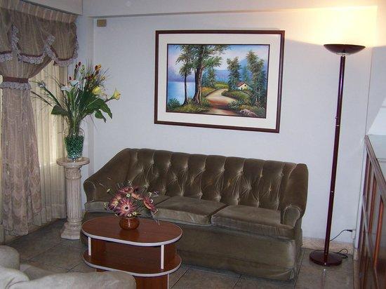 Imperium Hotel Lima : Sala de recepción