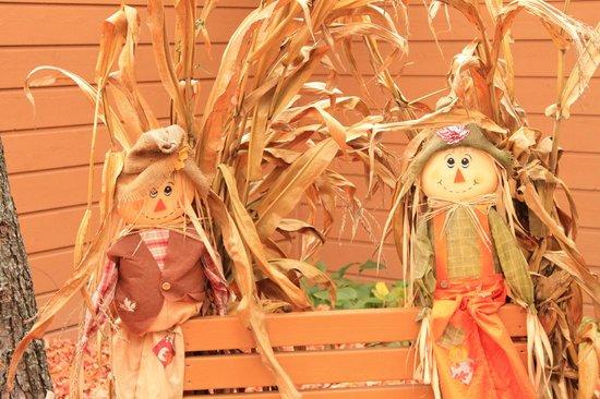 The Landing Resort: Halloween decorations